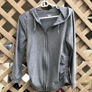 Motherhood Maternity zip up hoodie M